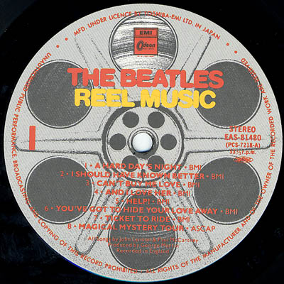 The Beatles Japanese Lp Guide Label History