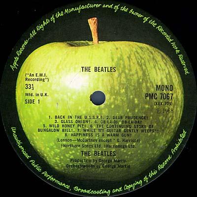 The Beatles U K Lp Mono Apple