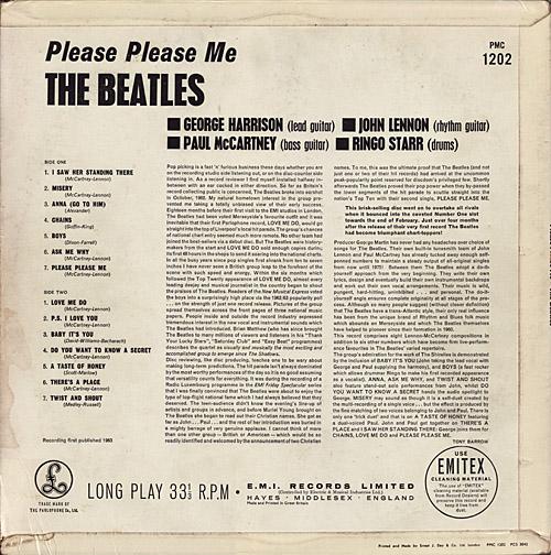 The Beatles U K Guide Lp Parlophone Album Cover Rubber Soul